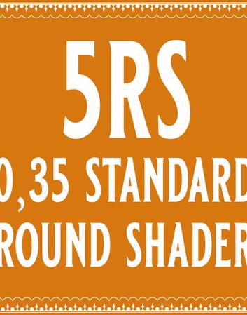 35/5 Round Shader