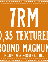 35/9 Rough as hell Round Magnum