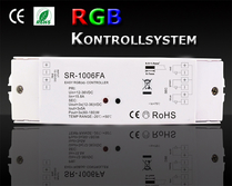 SR-1006FA RGB Mottagare 3x5A