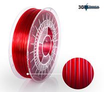 3D Filament PETG Standard  Röd transparent