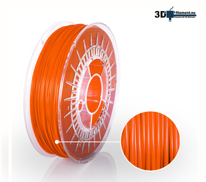 3D Filament PETG Standard  Orange