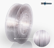 3D Filament PETG Standard Transparent