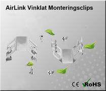AirLink Fast Vinklat Monteringsclips