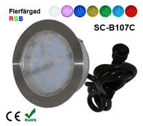 Deck/Floorlight Lampa 2W RGB
