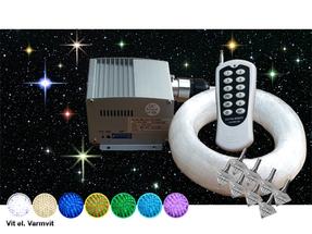 Stjärnhimmelpaket 5W DMX Dimbar Ledprojektor 8kvm