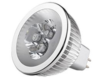 LED Spotlight 3x2W MR16 Varmvit