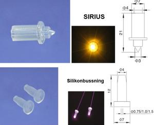Fiberoptisk Lins Sirius 10st