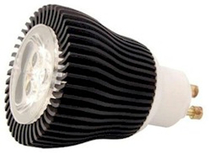 LED Spotlight 3x1W Varmvit