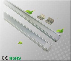Aluminiumprofil för ledtejp Rund