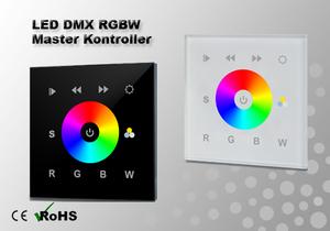 LED DMX RGBW Väggkontroller 1-zon