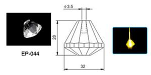 Fiberoptisk Ljuskrona Magellan
