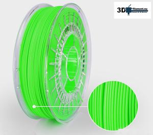3D Filament PLA Special Colors Neon Green