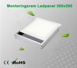 Monteringsram Ledpanel 300x300