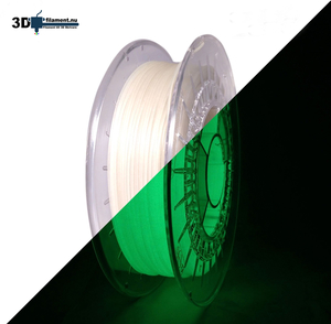 3D Filament PLA Glow in the Dark Green