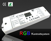 SR-1002MS Manuell RGB Kontroller 3/4x5A