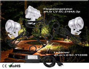 Led Trädgårdslampa COB 10W