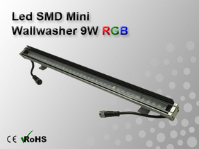 Led SMD Mini Wallwasher 9W RGB