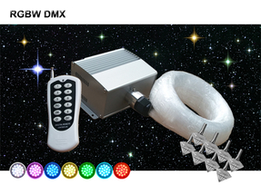 Stjärnhimmelpaket 12W DMX RGBW  Twinkle 8kvm