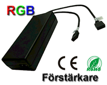 LED/RGB Förstärkare 230VAC/12VDC