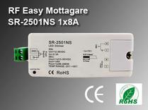 RF Easy Mottagare SR-2501NS 12-36VDC 1x8A