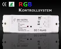 SR-1007FA RGB +W Mottagare 3x5A