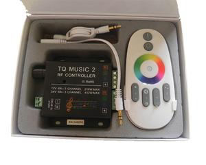 LED/RGB-kontroller Musikstyrd