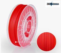 3D Filament PLA Standard Transparent Röd