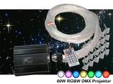Stjärnhimmelpaket 60W RGBW DMX Dimbar 16kvm