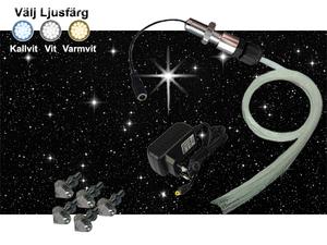 Stjärnhimmelpaket Mini 1W Ledprojektor 1kvm
