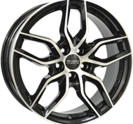 "18"" ANZIO SPARK - Gloss Black / Polished 8x18 - ET45"