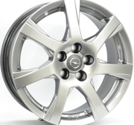 "17"" ATS TWISTER - Silver Bright 7,5x17 - ET45"