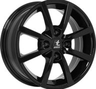 "17"" IT WHEELS ALISIA - Glossy Black 6,5x17 - ET37"