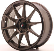 "18"" JAPAN RACING JR11 DARK BRONZE"