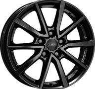 "16"" ANZIO VEC - Glossy Black 6x16 - ET48"