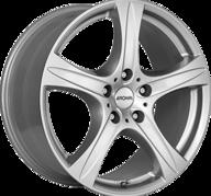 """18"""" RONAL R55 SUV - Crystal Silver 8,5x18 - ET45"""