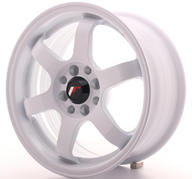 "15"" JAPAN RACING JR3 WHITE"