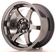 "15"" JAPAN RACING JR3 BLACK CHROME"