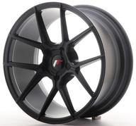 "18"" JAPAN RACING JR30 MATT BLACK"