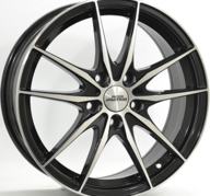 "17"" INTER ACTION ZODIAC - Gloss Black / Polished 7x17 - ET45"