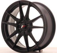 "17"" JAPAN RACING JR21 MATT BLACK"