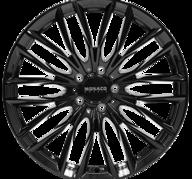 "18"" MONACO GP2 - Glossy Black 8x18 - ET40"