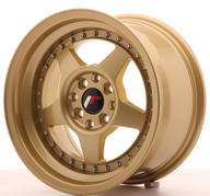 "15"" JAPAN RACING JR6 FULL GOLD"