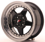 "15"" JAPAN RACING JR6 GLOSSY BLACK"