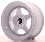 "15"" JAPAN RACING JR6 FULL WHITE"