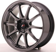 "18"" JAPAN RACING JR5 HYPER BLACK"
