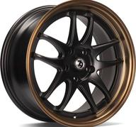 "16"" 79Wheels SV-I MATT BLACK BRONZE LIP"