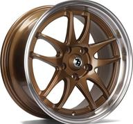 "16"" 79Wheels SV-I BRONZE POLISHED LIP"