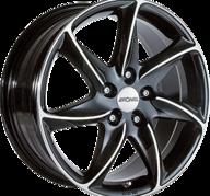 "20"" RONAL R51 - Gloss Black / Polished 8,5x20 - ET50"
