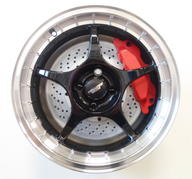 "15"" Inter Action Race - Black polish"