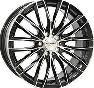 "19"" MONACO GP2 - Gloss Black / Polished 8,5x19 - ET45"